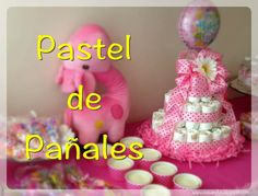 #DIY #pastel de #pañales #cake #diaper #baby #shower