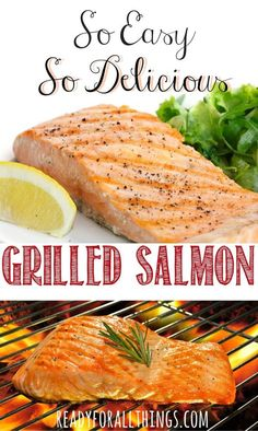 Cooking salmon on the grill is the best! If you need a healthy dinner fast, you must try grilling salmon. This recipe is simple, easy to follow, and delicious!