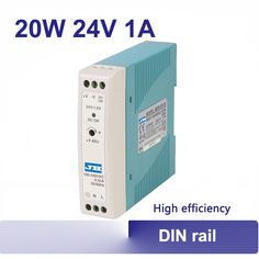 11.80$  Buy here - http://alid3l.shopchina.info/go.php?t=32485853815 - 24V 1A mini DIN rail power supply 20w Universal AC input auto indutrial switching power supply ac to dc high quality MDR-20-24  #buyininternet