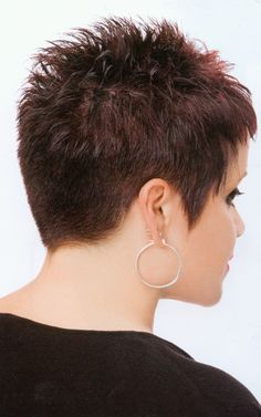 spikey assym pixie 2 Pixie Haircut For Thick Hair assym kurzhaar Pixie spikey Pixie Haircut For Thick Hair, Thin Hair Cuts, Short Hair Cuts For Women, Short Hair Styles, Pixie Haircut For Round Faces, Short Spiky Hairstyles, Short Pixie Haircuts, Short Hairstyles For Women, Super Short Hair