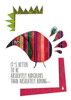 RIDICULOUS  - plakat ilustrowany (basic size)