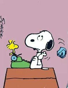 Snoopy the Author - writing Amy Lillard ROMANCE AUTHOR http://www.amywritesromance.com