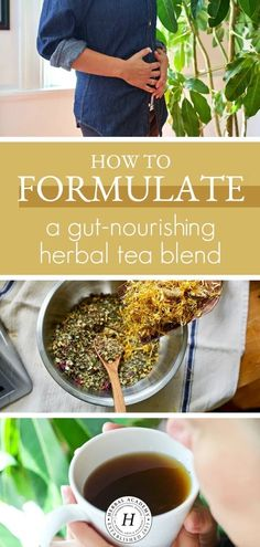 Learn how to formulate a gut-nourishing herbal tea blend from start to finish, and keep your gut happy and functioning properly! Natural Health Remedies, Herbal Remedies, Herbal Tea Benefits, Herbal Teas, Best Herbal Tea, Homemade Tea, Tea Blends, Medicinal Herbs, Tea Recipes