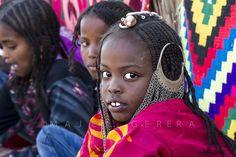 Africa | A Toubou child. Southern Libya | ©Majed Egirra