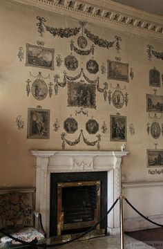 The 18th c. Print Room in Castletown House
