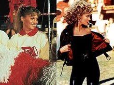 "The big transformation doesn't come until the end of ""Grease,"" but it's still one worth mentioning. Description from stylecaster.com. I searched for this on bing.com/images"