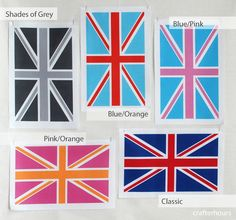 union jack fabric designs