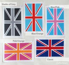 union jack fabric designs