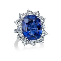 Platinum Blue Sapphire Cushion Cut Diamond Ring (5.015.022.780 VND) ❤ liked on Polyvore featuring jewelry, rings, platinum jewelry, platinum jewellery, cushion cut diamond ring, blue sapphire diamond ring and diamond jewellery