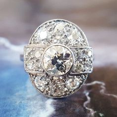Art Deco Engagement Ring Vintage Engagement Ring : Nothing beats the sparkle of ., - Art Deco Engagement Ring Vintage Engagement Ring : Nothing beats the sparkle of …, - Art Deco Diamond, Art Deco Ring, Art Deco Jewelry, Diy Jewelry, Mens Jewellery, Jewellery Shops, Jewellery Box, Jewelry Stores, Jewelry Rings