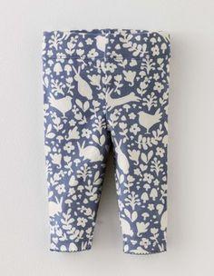 Blue Stencil Baby Leggings Boden