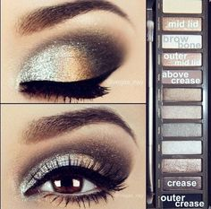 Naked2 Palette if I ever wanted to wear a lot of makeup and still look good. I might try this one day