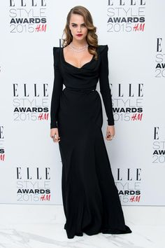 Cara Delevingne in Vivienne Westwood
