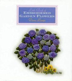 Little Book of Embroidered Garden Flowers (Milner craft series)