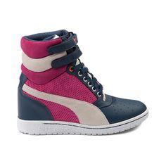 b2183476924 Womens Puma Sky Wedge Sneaker