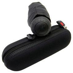 Knirps X1 | Compact Folding Umbrella | Black