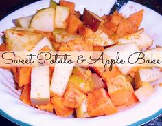 Sweet Potato & Apple Bake