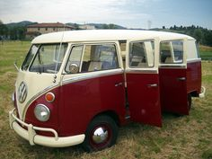 "very rare vw kombi bus 6 doors ""TAXI"" Volkswagen Bus, Vw T1, Vw Camper, Campers, Metal Evolution, Kombi Home, Short Bus, Vw Group, Wheels On The Bus"