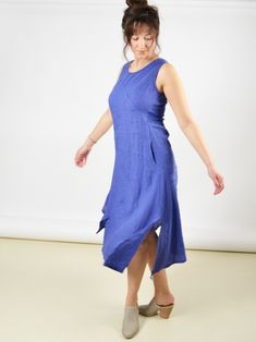 e67ed8edee Linen Dress by Inizio at Hello Boutique
