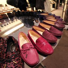 Tod's loafers...wish I had a pair in every color!