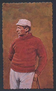 Willie Keeler baseball 1984 RGI Hall of Famers Deckle Edge card #19