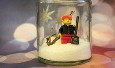 Lego Minifigure Terrarium