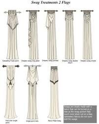 Image result for swag headed curtains