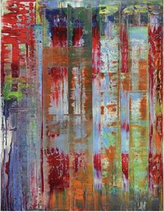 Abstract Bilding - Gerhard Richter 1992 Style: Abstract Expressionism Genre: abstract painting