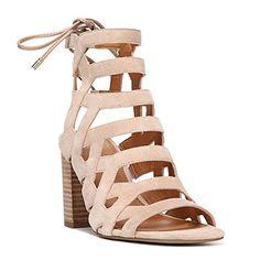 09b12fa8ac7 Franco Sarto Connie Women s Sandal 6.5 B(M) US Beige Fran- 129.95 Suede