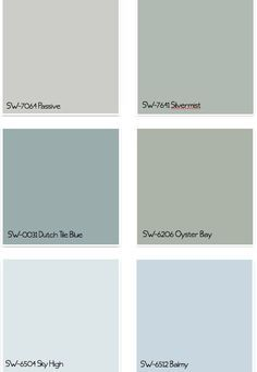 sherwin williams whole house color palette - Google Search