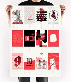 Gewinnt einen illustrierten Siebdruck-Kalender für 2013 | Freistil-online. Portal für Illustration
