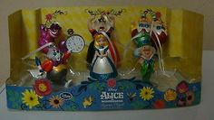 NEW Disney Alice in Wonderland Ornaments Cheshire Cat Queen of Hearts Mad Hatter