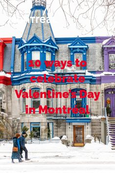 This year, Valentine's Day is on a Sunday, which means you can plan a leisurely, romantic weekend in the city of a hundred steeples. Montréal has full of ideas for you and your cherished one. Love is definitely in the air! Montreal, Things To Do, Sunday, Valentines, Romantic, City, Celebrities, Ideas, Things To Make