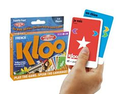 KLOO's Learn to Speak French Language Card Games Pack 1 (Decks 1 & 2) KLOO http://www.amazon.com/dp/B004JNZGFI/ref=cm_sw_r_pi_dp_dO5cub0620J82