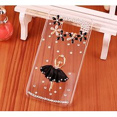 Crystal Luxury Diamonds Ballerina Girl Cases for Samsung Galaxy S6/S6 edge Plus - Galaxy S6 Edge Cases - Galaxy S3/4/5/6 Cases