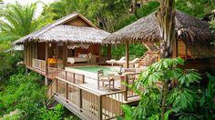 Die Fotos zeigen das bei Phuket gelegene Six Senses Yao Noi. Die besten Luxusreisedeals zum Schnäppchenpreis finden Sie in unserem Newsletter, einfach jetzt kostenlos anmelden: http://www.first-class-and-more.de/newsletter