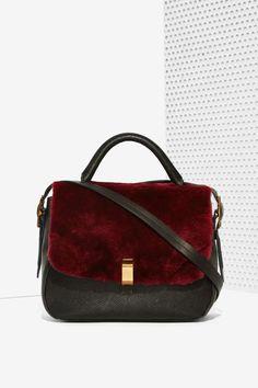 IlllBeCa D'Orsay Shearling Bag