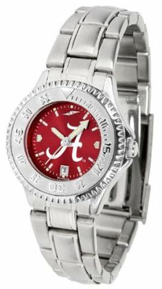 Alabama Crimson Tide- University Of Competitor Anochrome - Steel Band - Ladies - Women's College Watches by Sports Memorabilia. $87.08. Makes a Great Gift!. Alabama Crimson Tide- University Of Competitor Anochrome - Steel Band - Ladies