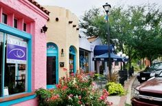 Oklahoma City's Paseo Arts District located at 28th and North Walker to 30th and North Dewey
