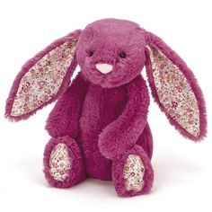 Blossom Bashful Bunny in rose  by Jellycat from The Bear Garden