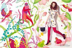Ella Tjader Illustration Portfolio – Fashion, Art and Nature Illustrator