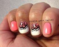 <3 white black pink