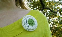 botanical brooch by #GrowthObjects very nice!