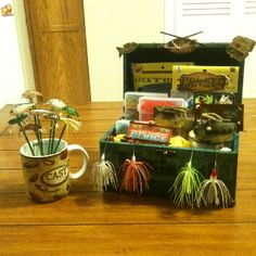 Fishing Lure Bouquet/Fishing Gift Basket