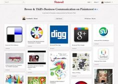 Business Communication Pictorial--Bovee and Thill on Pinterest