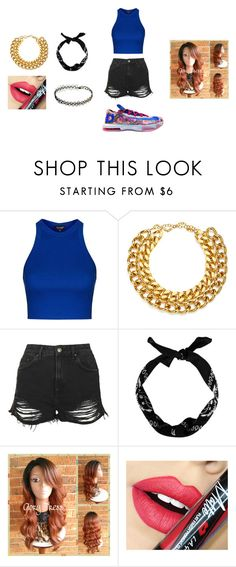 """""""U thought"""" by arie-boi on Polyvore featuring NIKE, Topshop, A.V. Max, New Look and Fiebiger"""