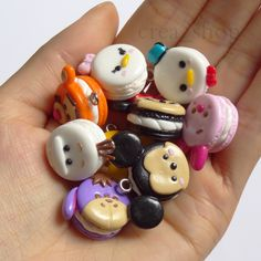 Jual Disney Tsum Tsum Macarons - Handmade Fimo Polymer Clay Charm - Crea_Shop | Tokopedia