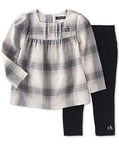 221fa2a6b2 Calvin Klein Toddler Girls  Tunic and Leggings 2 Piece Set - Kids  amp  Baby