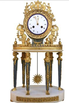 Napoleon III Empire Clock, circa 1860
