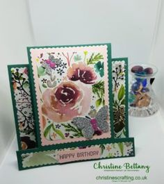Birthday Card for a Special Niece – Christine's Crafting by Christine Bettany